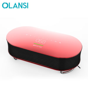 colorful Desktop tabletop 2-in-1 mini air cleaner, remove perfume personal air purifier cleaner
