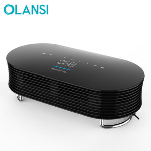 OLANSI Hot sales portable negative Ion 12v desktop air purifier for office