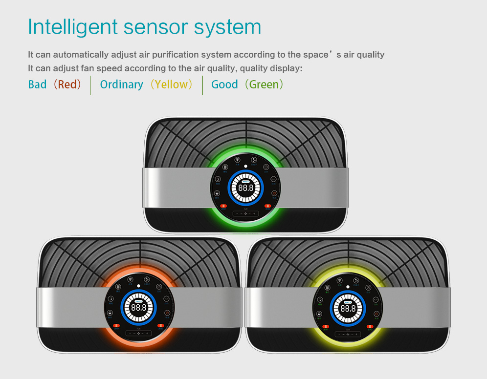 intelligent WIFI air purifier