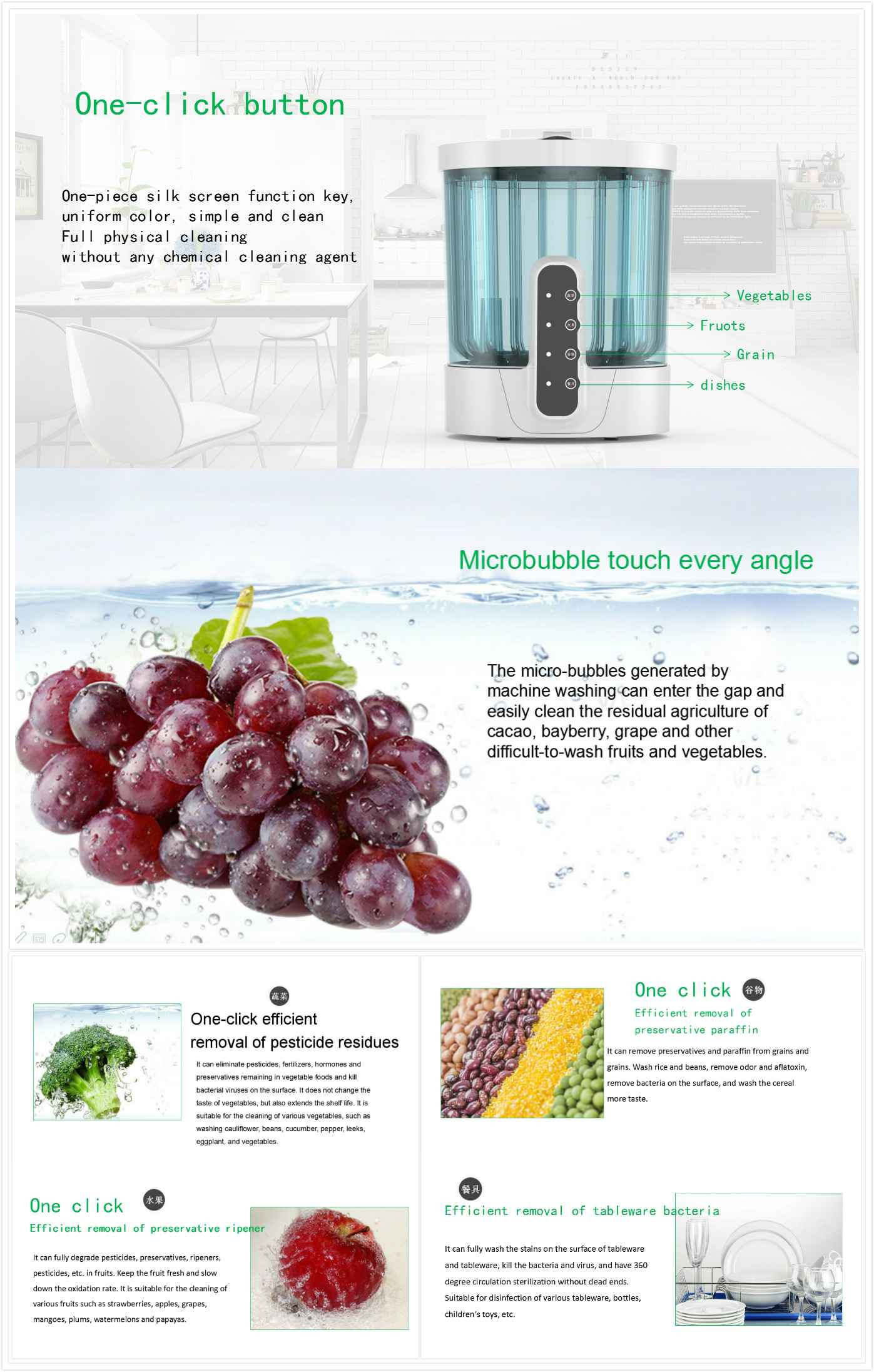 What is fruit and vegetable cleaner?