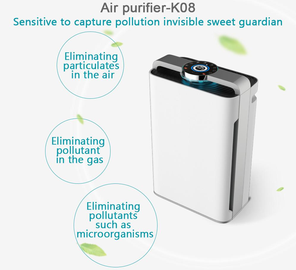 ionizer air purifier,ozone free air purifier,intelligent air purifier