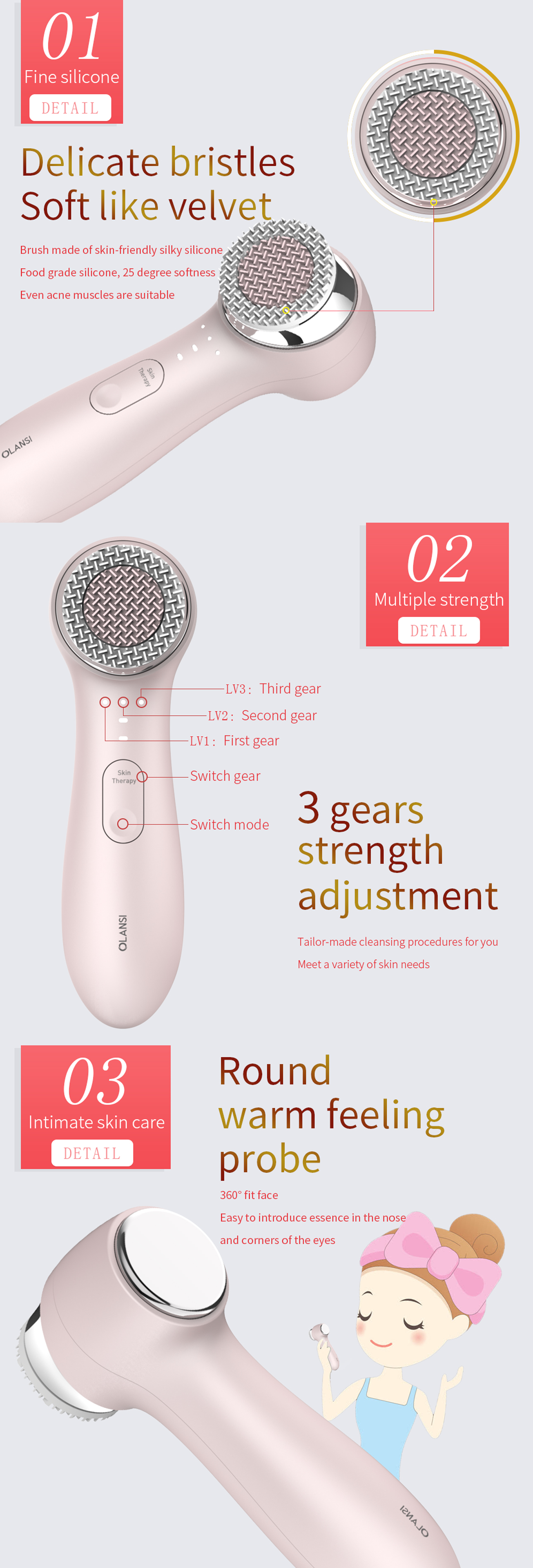Facial Cleansing Instrument