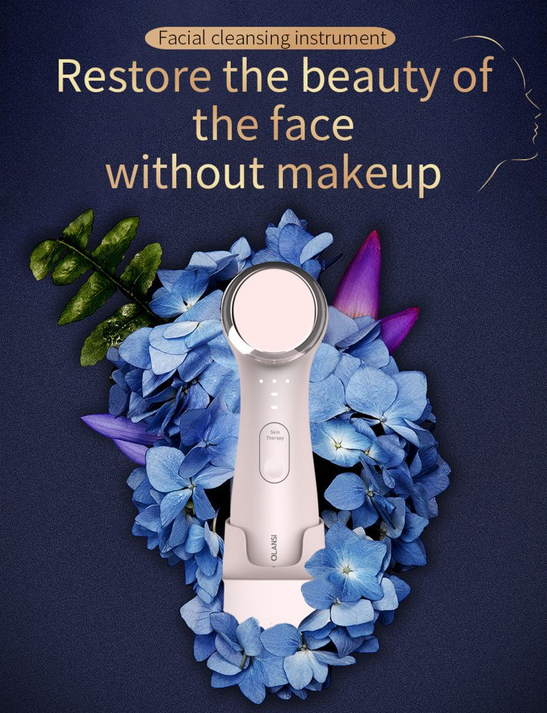 facial cleaner,2 in 1 beauty facial cleansing machine,ultrasonic facial brush