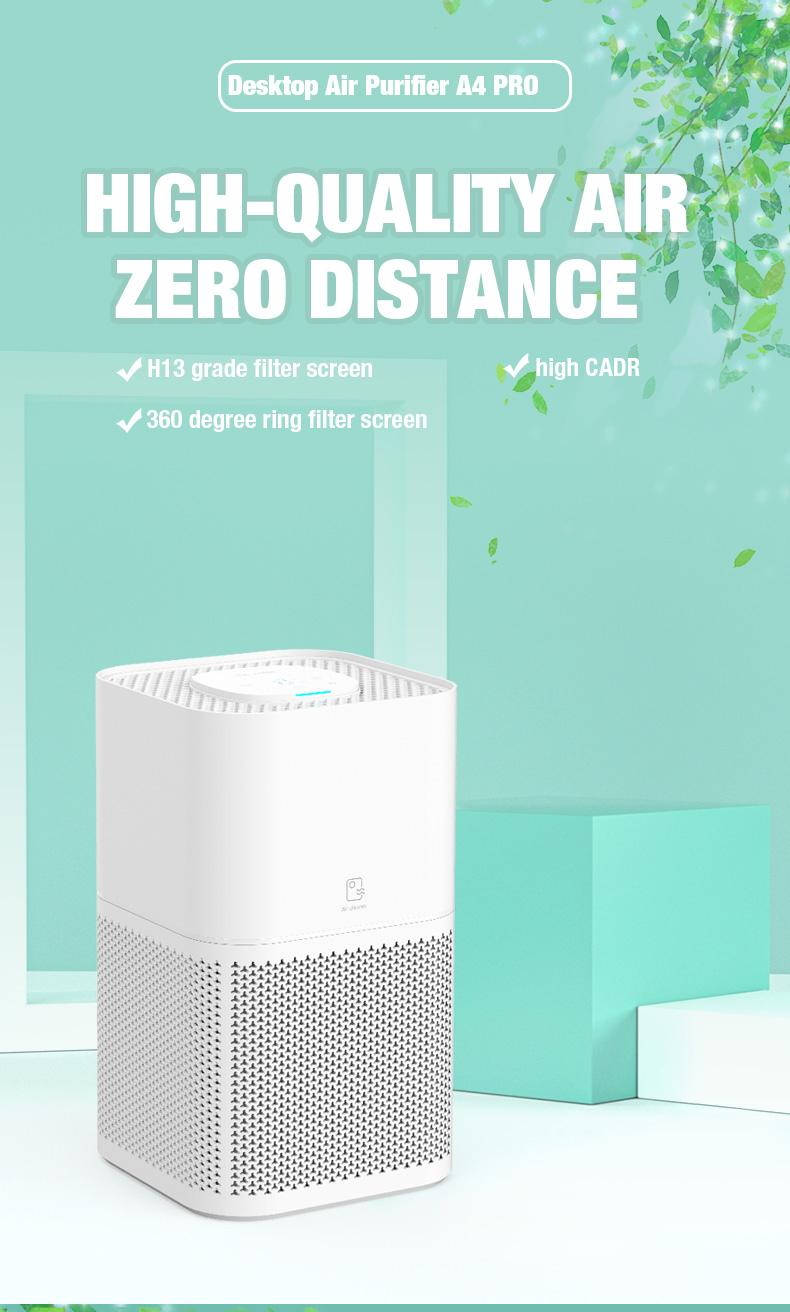 UVC hepa air purifier